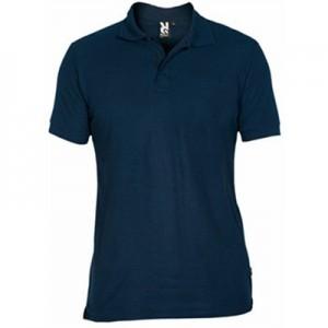 Polo krekls (tumši zils, balts)