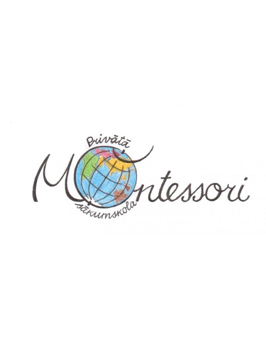 Privātsākumskola Montessori LOGO jeb EMBLĒMA