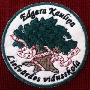 Edgara Kauliņa Lielvārdes vidusskolas LOGO jeb EMBLEMA