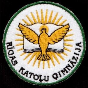 Rīgas Katoļu ģimnāzijas LOGO jeb EMBLĒMA