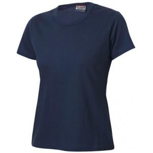 Sieviešu tops (tumši zils, balts)