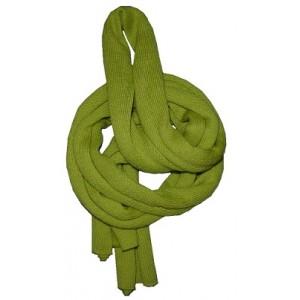 Makaronu šallīte (dzeltena, vestes zaļa)